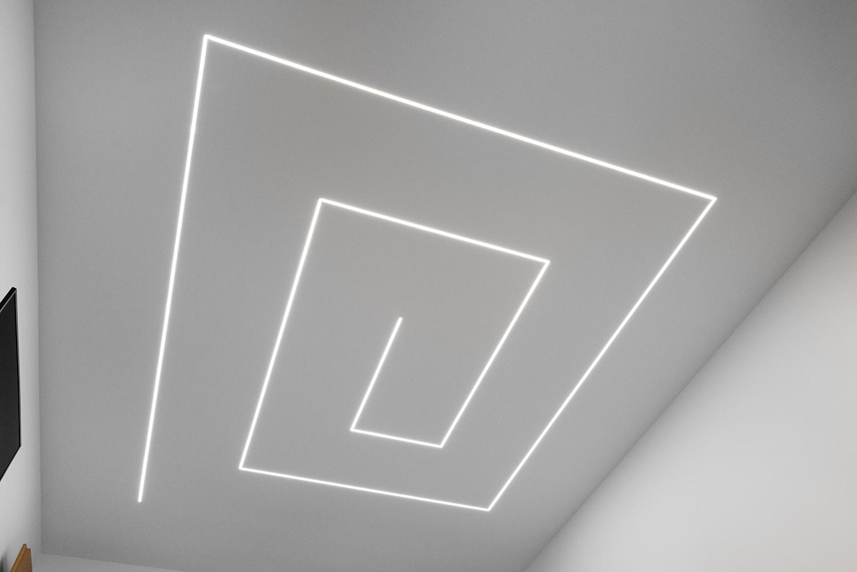 Realizace - Osvětlení bytu - Praha - Prosek 0