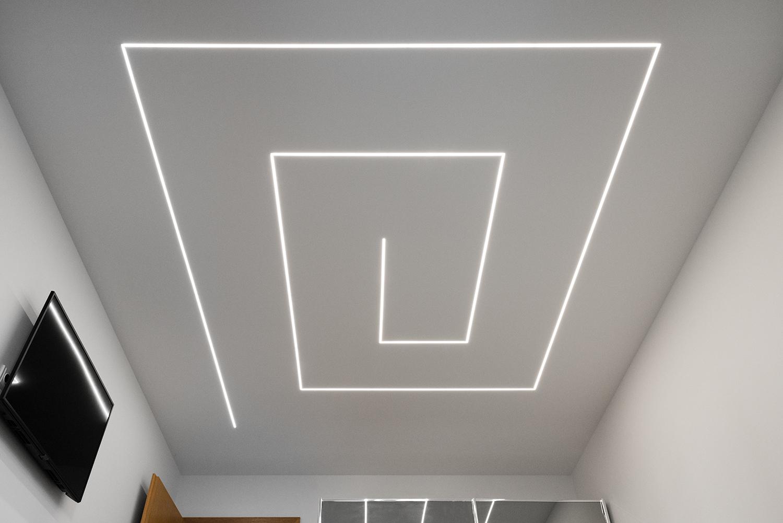 Realizace - Osvětlení bytu - Praha - Prosek 1