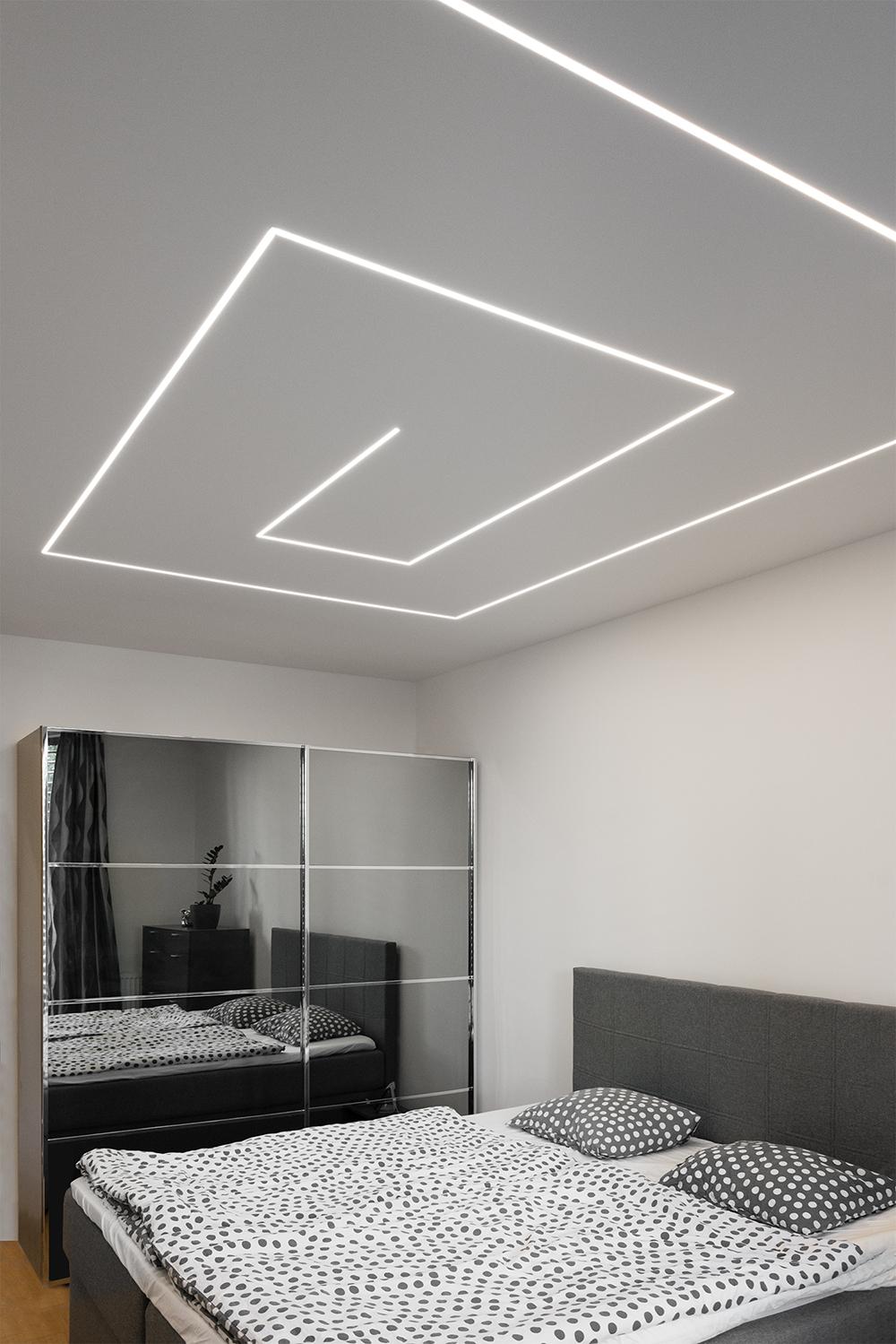 Realizace - Osvětlení bytu - Praha - Prosek 2