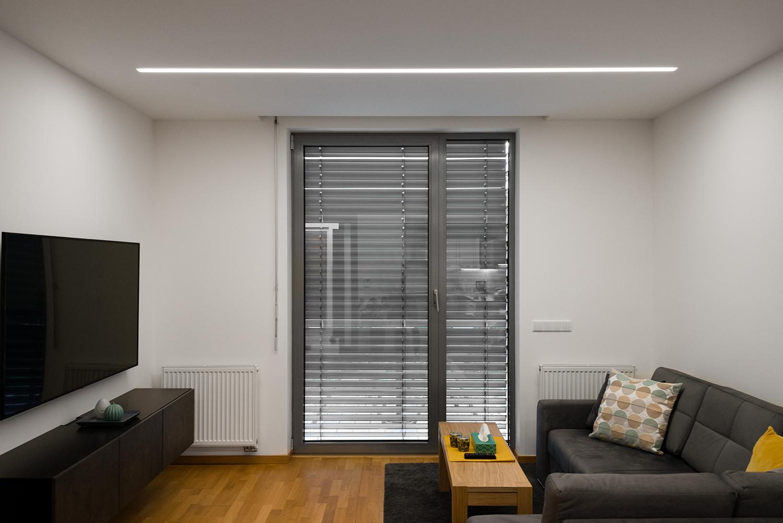 Realizace - Osvětlení bytu - Praha - Prosek 8