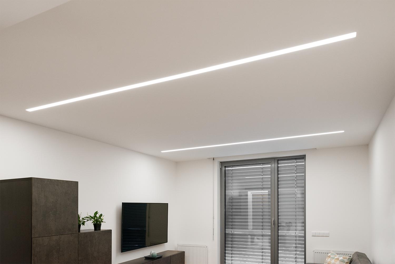 Realizace - Osvětlení bytu - Praha - Prosek 9