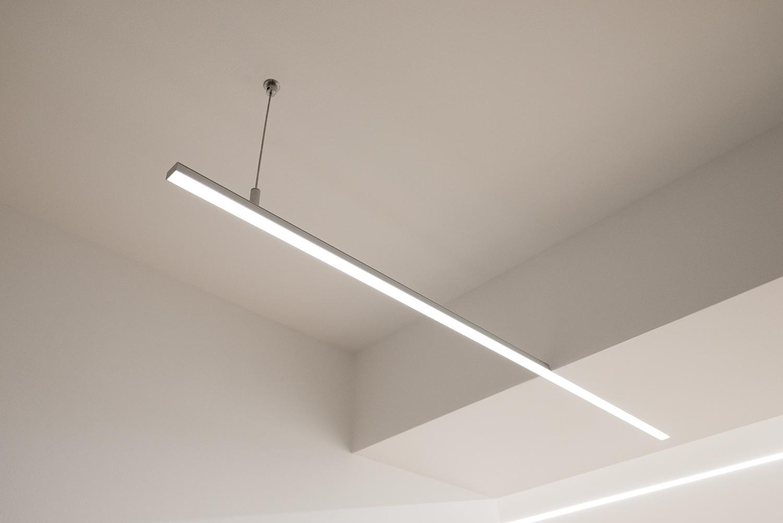 Realizace - Osvětlení bytu - Praha - Prosek 11