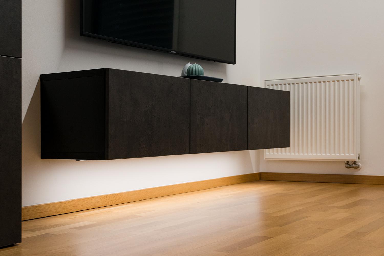 Realizace - Osvětlení bytu - Praha - Prosek 20