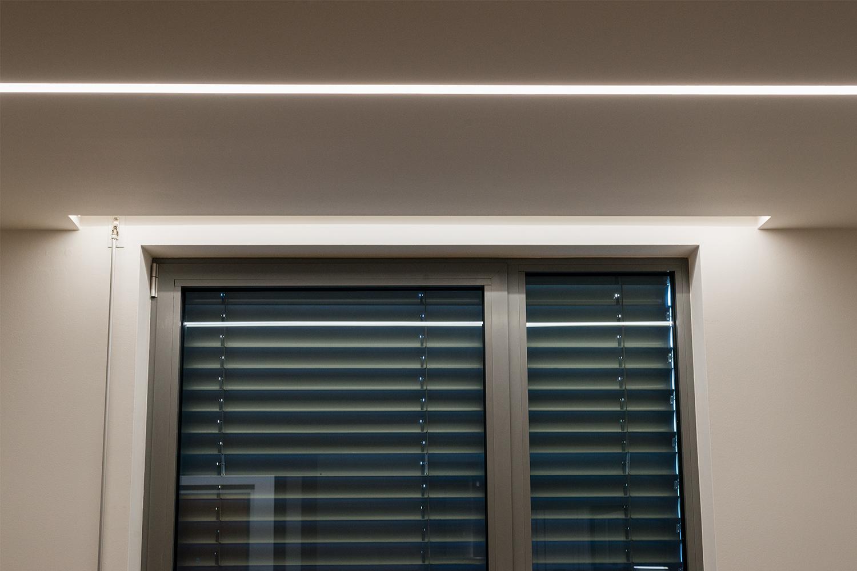 Realizace - Osvětlení bytu - Praha - Prosek 21