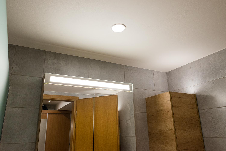 Realizace - Osvětlení bytu - Praha - Prosek 22