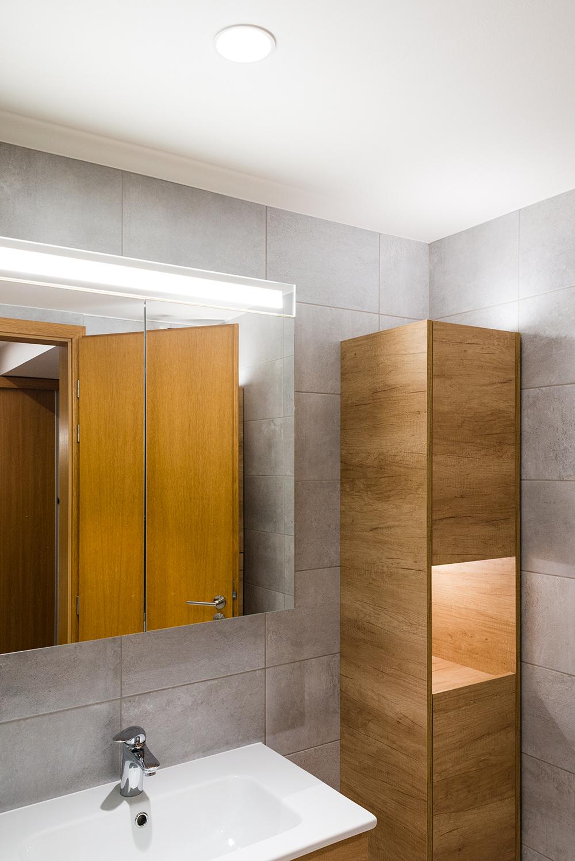 Realizace - Osvětlení bytu - Praha - Prosek 23