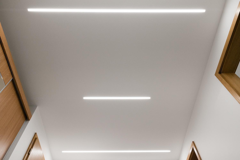 Realizace - Osvětlení bytu - Praha - Prosek 35