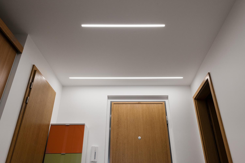 Realizace - Osvětlení bytu - Praha - Prosek 36