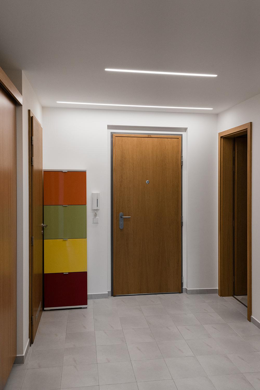 Realizace - Osvětlení bytu - Praha - Prosek 37